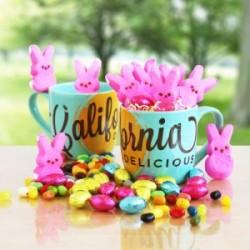 Easter Mug and Marshmellow Sweets Gift